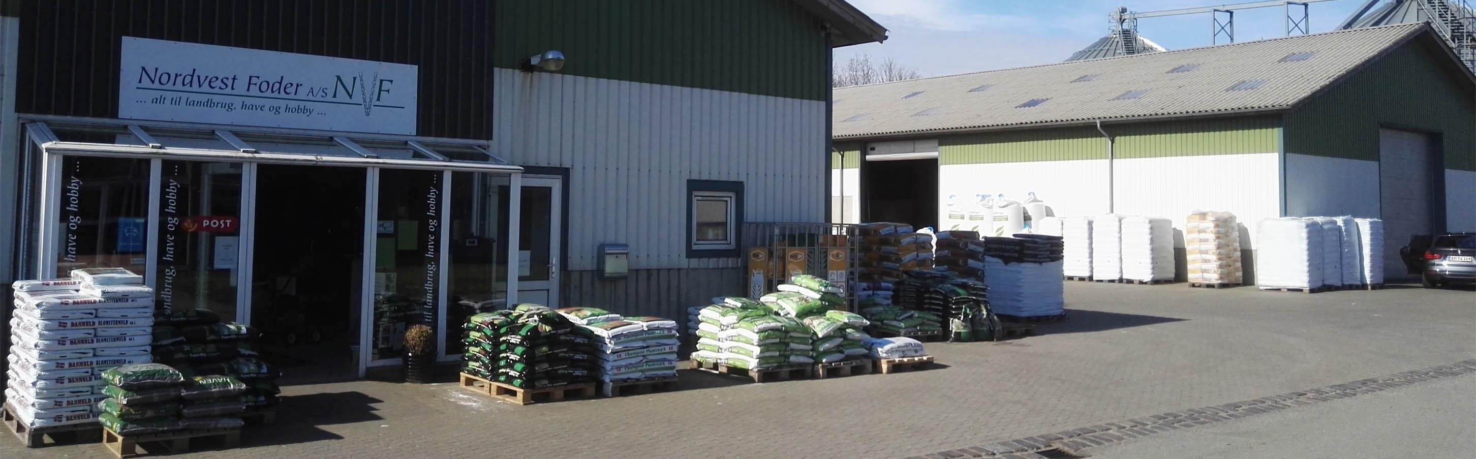 Korn og foderstoffer i Nordjylland
