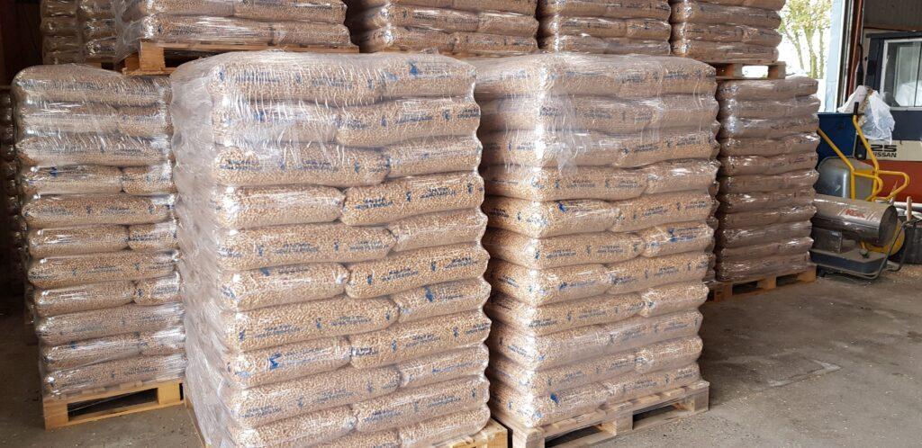 Træpiller og anden biobrændsel i Nordjylland